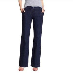 BANANA REPUBLIC wide leg jeans 4
